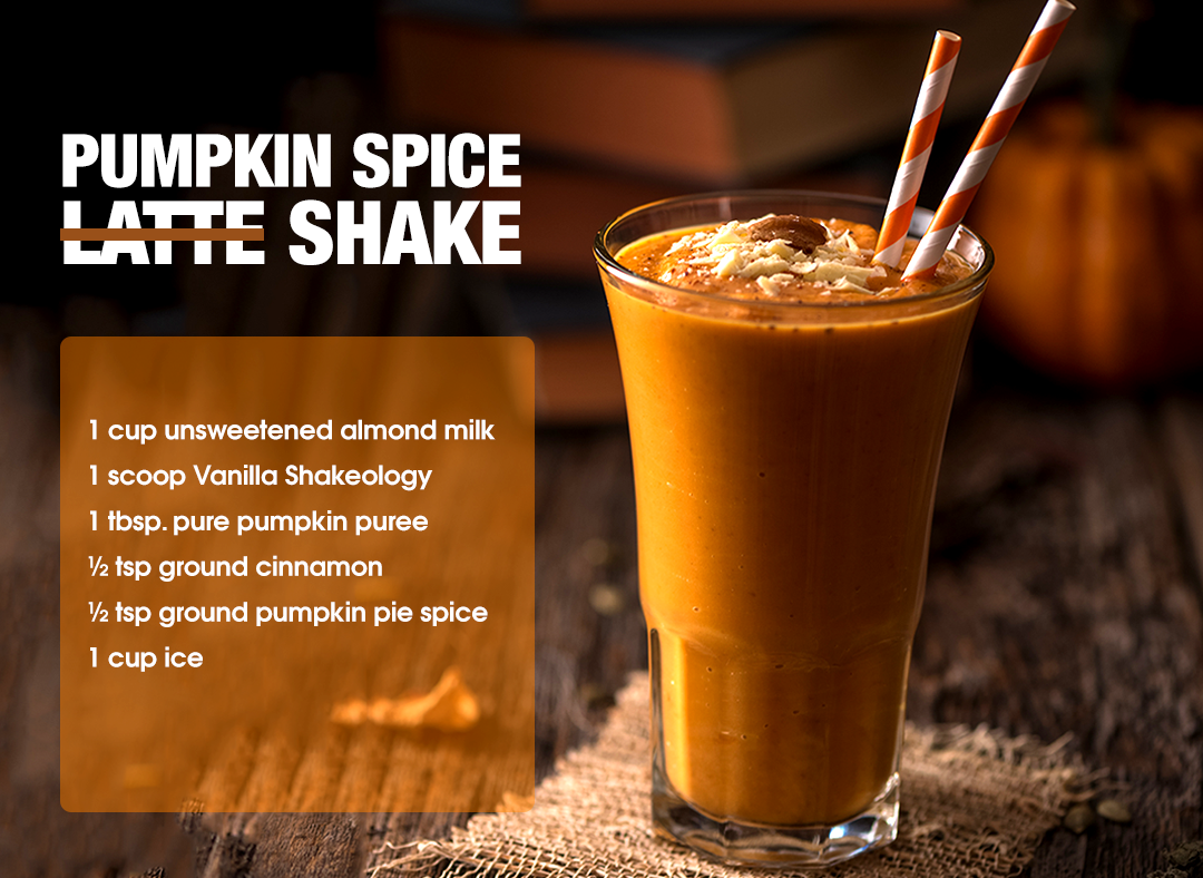 Pumpkin Spice Breakfast Shake Recipe — Dishmaps